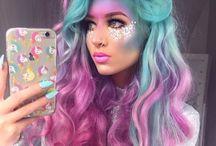 colourful hair inspiration