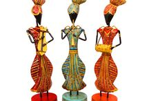 Multicolor Set of 3 Elegant Punjabi Musicians