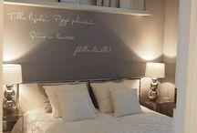 Camera da letto stile Shabby Chic