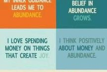 Abundance / Wealth and Happiness