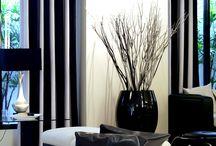 Preto e branco: uma dupla infalível na decoração.