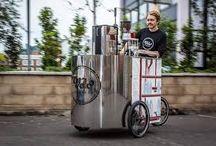 box carrinho de cafe