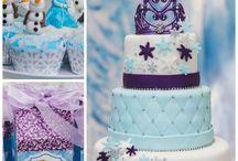 Cumpleaños Frozen cata