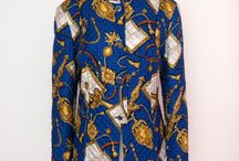 Givenchy vintage royal print