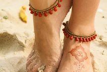 feet jewelry