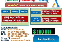Attend Online LIVE Training Classes and Get $100 off from Acutesoft with Real Time Experts