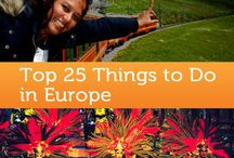 Fabulous European Travel Destinations / Best travel destinations in Europe. Travel tips. Travel Guides. Travel Advice.