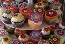 Cupcakes pastillaje