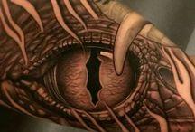 Wild Eye tattoo