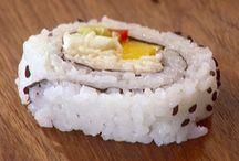 Sushi night / by Rachael Mcdaniel