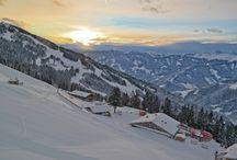 Saalbach Winter, snow & skiing