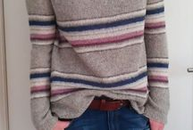 Mønstre / Stripet genser