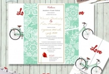 Papeteria Ślubna / Zaproszenia i dodatki ślubne http://sylwianadolska.com/  #Zaproszeniaslubne #Papeteriaslubna