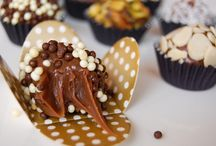 Birthday chocolate truffle