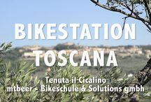 Bikeferien in der Toscana /  Unzählige Single-Trails, das eingespielte mtbeer-Team, das gepflegte Agriturismo Tenuta il Cicalino und die Kochkünste von Spitzenkoch «Salvo» bieten Ihnen unvergessliche Ferien.   Erleben und Geniessen - weit weg vom Alltagsstress.