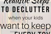 Decluttering and Kids