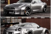 "GT-R / ""The cars we drive say a lot about us."" - Alexandra Paul"