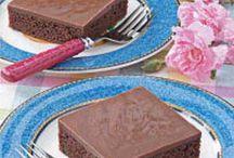 Recipe board  / Texas cake
