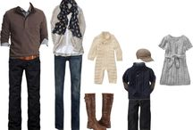 Clothing ideas for Family Portraits