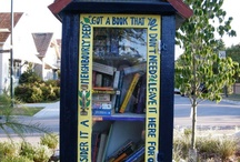 Little Free Library and garden board