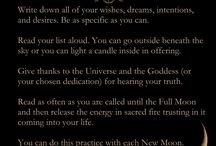 Lunar phases and rituals