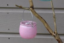 Tea-lights and Candleholders