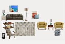 Design Mood Boards / Design mood boards are inspirational and a creative outlet to finish up a room renovation.