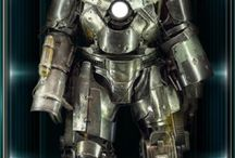 Iron Man Hall of Armor / All iron man armors with descriptions and wiki