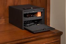Quick Access Safes / Stack-On's Quick Access Safes feature a spring loaded front door that allows instant access to your valuables. All models are available with Biometric or Electronic locks and include fully padded interiors. All are California DOJ-approved firearms safety devices.