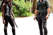 Richonne / It's your favorite zombie-killing couple: Richonne!