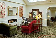 Fitzgeralds Woodlands House Hotel / interior of the Fitzgerald's Woodlands House Hotel in Adare Co. Limerick Ireland  / by WoodlandsHouse