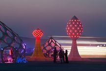Festival Structures / Structures and installations or inspirations
