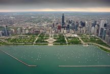 In Chicago, Chicago my home town.