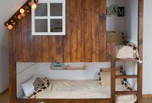 Boys Room.  Boy bedroom ideas. / Find more: www.ladyofthehouse.pl
