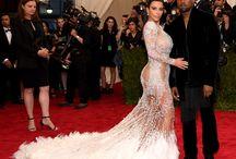 Met Gala 2015 / Kim Kardashian, Kanye West, Gong Li and Joan Smalls enchanted the Met Gala 2015 red carpet wearing Roberto Cavalli by Peter Dundas. DISCOVER MORE: http://tinyurl.com/ksbp5h4