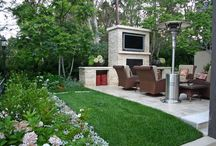Malibu Garden / Malibu gardens with entertaining areas