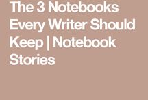 notes/journal in planning a story
