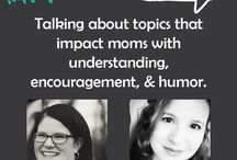 Talking Mom 2 Mom /  Talking Mom2Mom. Lindsey and Richele are two moms on different sides of the same coin. Lindsey is just beginning her homeschool journey with 6 children ages 8 and under. Richele is a veteran homeschool mom with 4 children ages 8 and older. Both work from home, homeschooling moms have 8 girls and 2 boys between them. They will tackle topics that impact moms with understanding, encouragement, and humor.
