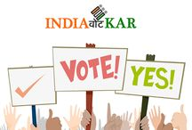 India Vote Kar / This is an initiative to encourage all voters to use their vote.We are not promoting or supporting any Political Party or Person.