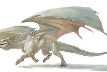 Dragon • White