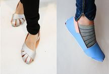 Tee itse kengät