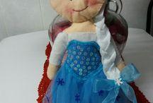 Elsa de fieltro