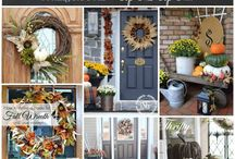 FALLing in love / everything autumn and fall decor / by Diane H