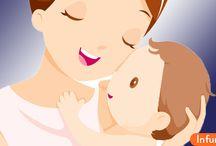 Как ухаживать за ребенком до года