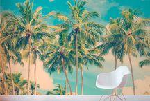 Galería Fotomurales Vintage / Revaloriza el valor de tus espacios y el color siempre actual con estos fotomurales vintage