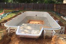 New Vinyl Pool Built in Springfield, VA