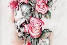 Teschio rosa