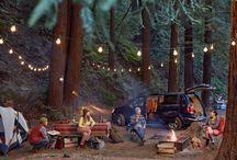 캠핑, 야외활동, 캠핑도구 아이디어