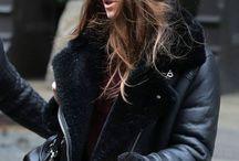 Zara black leather