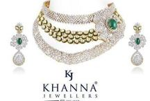 Khanna jewellers - Diamond, Gold, Polki Jewellery / Khanna Jewellers - Jewelry's magic and appeal make it a natural gift for special occasions or any watershed moment in her life.